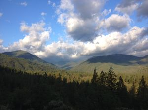 View of Scott Valley from hike 1